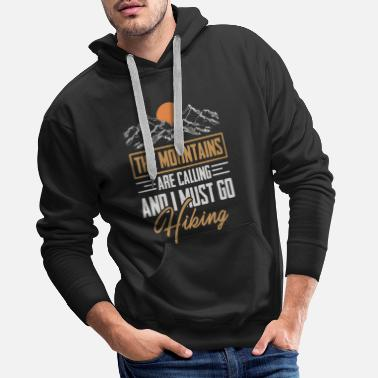 Hiking hike - Men's Premium Hoodie
