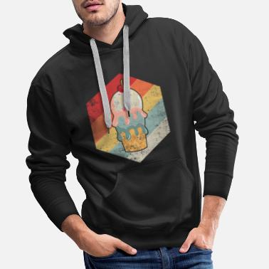 Ice Age Vintage Ice Cream T-shirt Kids Sweets Lover Gift - Men's Premium Hoodie