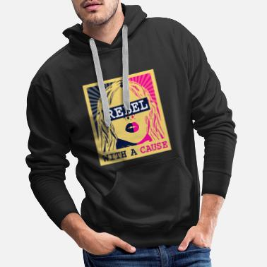 Rebel with a Cause - Männer Premium Hoodie