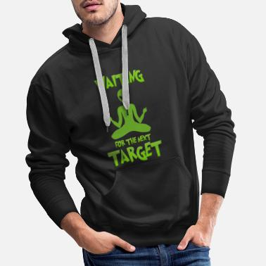 Cyborg Next target - Alien, Space, Planet - Men's Premium Hoodie