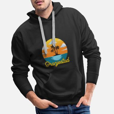 Dream Oranjestad dream vacation and holiday - Men's Premium Hoodie