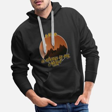 World Qatar forever in the heart - Men's Premium Hoodie