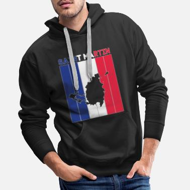 Capitalism St. Schwalbe state border and flag - Men's Premium Hoodie
