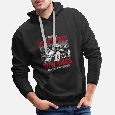 Truck Towing service an afterlife - Men's Premium Hoodie