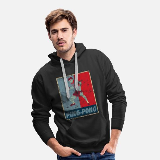 Gift Idea Hoodies & Sweatshirts - Ping-pong - Men's Premium Hoodie black