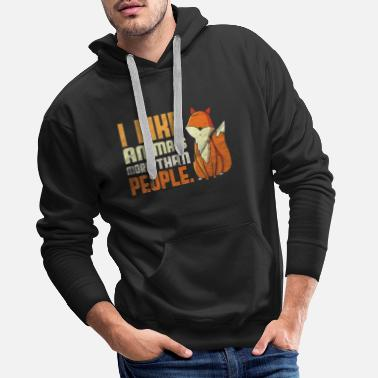 Animal Lover Animal animals Animal lovers - Men's Premium Hoodie