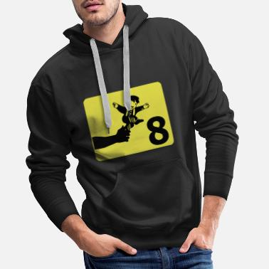 Watch out for a child - Men's Premium Hoodie
