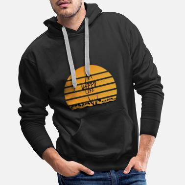 We Happy Camping shirt - Männer Premium Hoodie