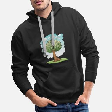 Richesse Let It Grow Money Tree Stocks Investor Gift - Sweat à capuche premium Homme
