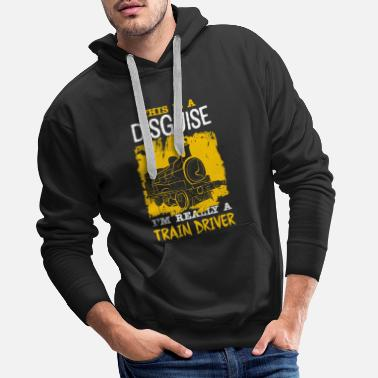 Train Railway trains - Men's Premium Hoodie