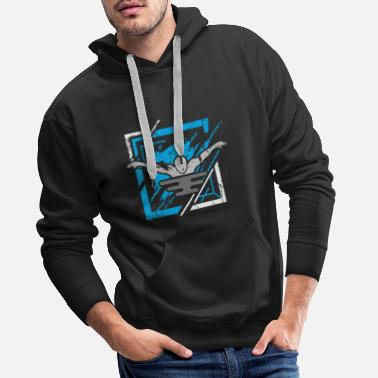 Adult Swim Swimming - Men's Premium Hoodie