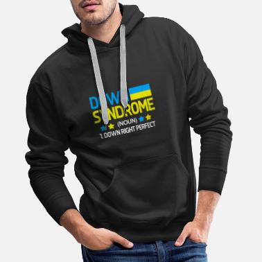 Down down syndrom - Men's Premium Hoodie