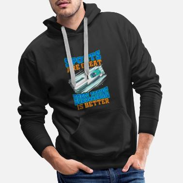 Nigeria Sports Are Great - Bobsledding is Better! - Men's Premium Hoodie