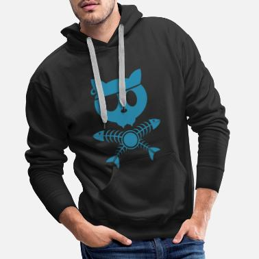 Pirate Pirate Kitty - Männer Premium Hoodie