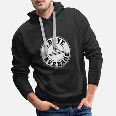 Privateer Statistic Stochastic About average math - Men's Premium Hoodie
