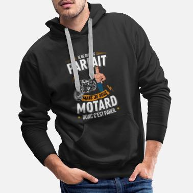 I am not perfect - Men's Premium Hoodie