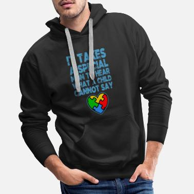 Awareness AUTISM SPECIAL MOM Autism Awareness Gift - Premium hættetrøje mænd
