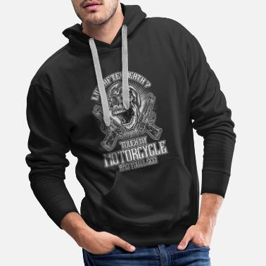 Death Don't touch my bike - EN - Men's Premium Hoodie