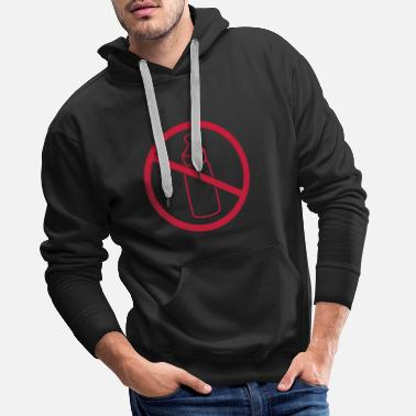 Cartoon No sign No flask zone area Drink - Men's Premium Hoodie