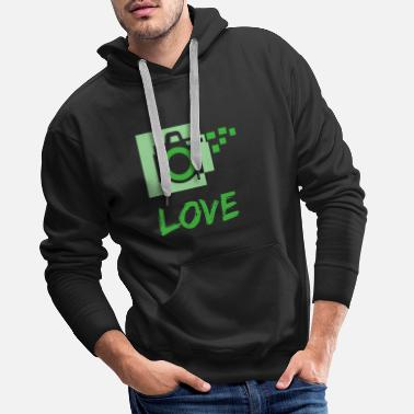 Take A Picture photo love - Men's Premium Hoodie
