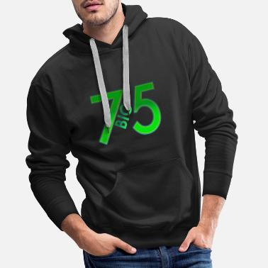 I Love Party Gros 75 - Sweat à capuche premium Homme