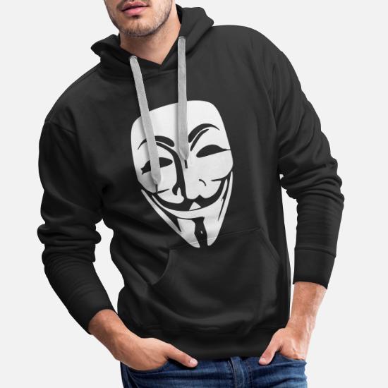 Anonymous Sweat à capuche premium Homme | Spreadshirt