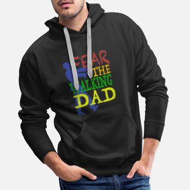 Fear FEAR THE WALKING DAD - Men's Premium Hoodie