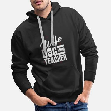 Retriever dog - Men's Premium Hoodie