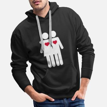Wedding Party Lovers - Men's Premium Hoodie