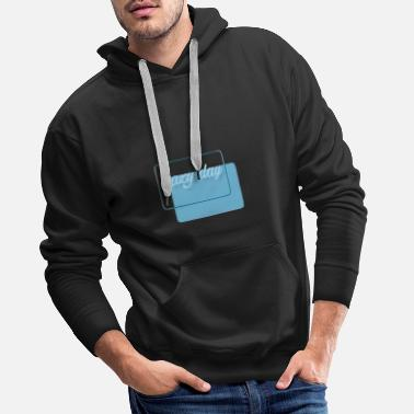 Lazy day - Men's Premium Hoodie