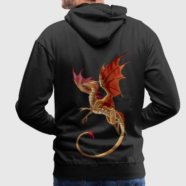 Golden dragon - Men's Premium Hoodie