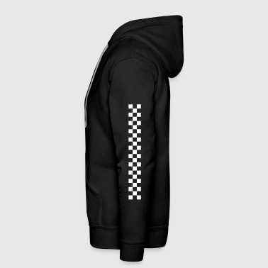 checkered bar - Men's Premium Hoodie