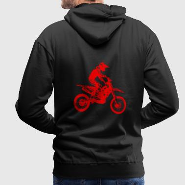 enduro red - Men's Premium Hoodie