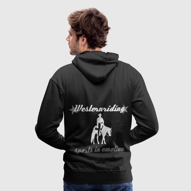 Westernreiten Sports in Emotion - Männer Premium Hoodie