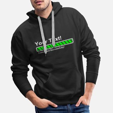 Ladebalken Ladebalken - fully loaded! - Männer Premium Hoodie