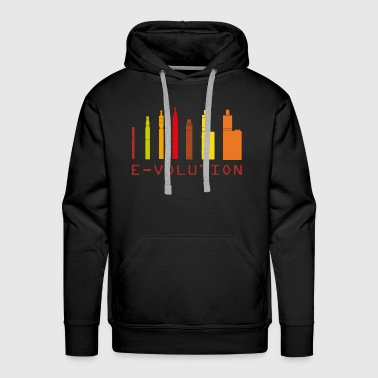 Vape Design Color Ecigs - Men's Premium Hoodie