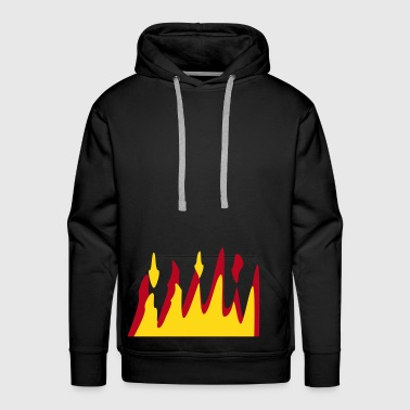 On Fire - Men's Premium Hoodie