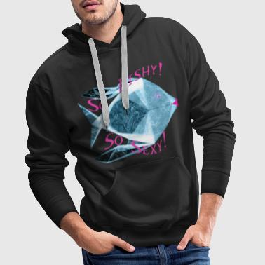 Blue Fish - Sweat-shirt à capuche Premium pour hommes