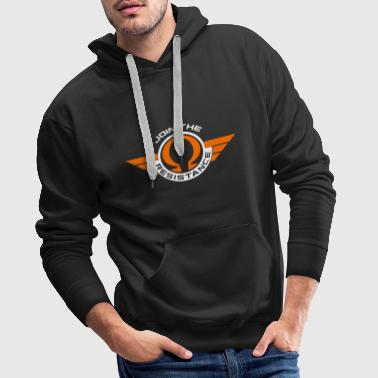 Join The Resistance - Funny Physics Shirt - Men's Premium Hoodie