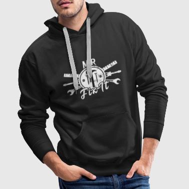 Funny Father's Day Gift Mr. Fix It Men Tools - Mannen Premium hoodie