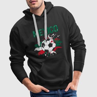 Champion du Mexique Football Football Shirt - Sweat-shirt à capuche Premium pour hommes