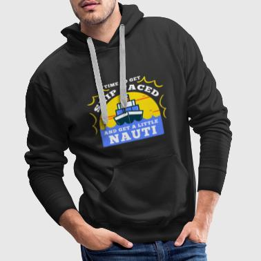 Funny cruise sayings Funny holiday gifts - Men's Premium Hoodie