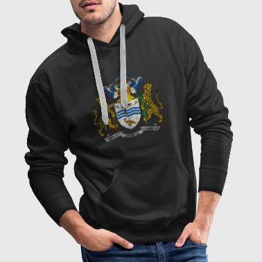 Guyanese Coat of Arms Guyana Symbol - Men's Premium Hoodie