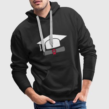 Doctor hat with certificate - gift - Men's Premium Hoodie