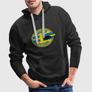 Sweden Outdoor / Gift / Gift Idea - Men's Premium Hoodie