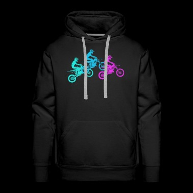 Motorcycle Motocross Motorsport Gift Idea - Men's Premium Hoodie