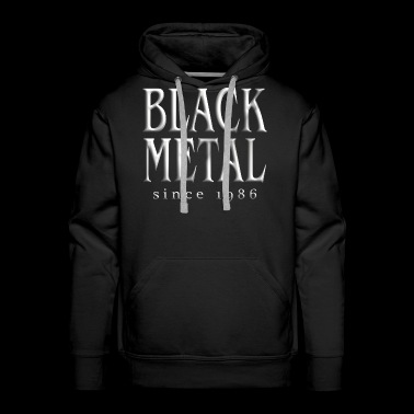 Black Metal T-Shirt - Men's Premium Hoodie