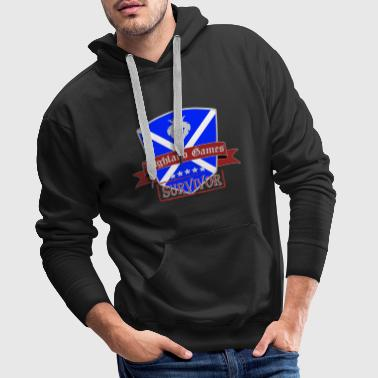 Highland Games Scotland Knight Fest Games - Men's Premium Hoodie