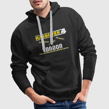 Hangover Party London England Great Britain Travel - Men's Premium Hoodie