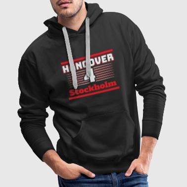Hangover Party Stockholm Sweden Travel - Men's Premium Hoodie